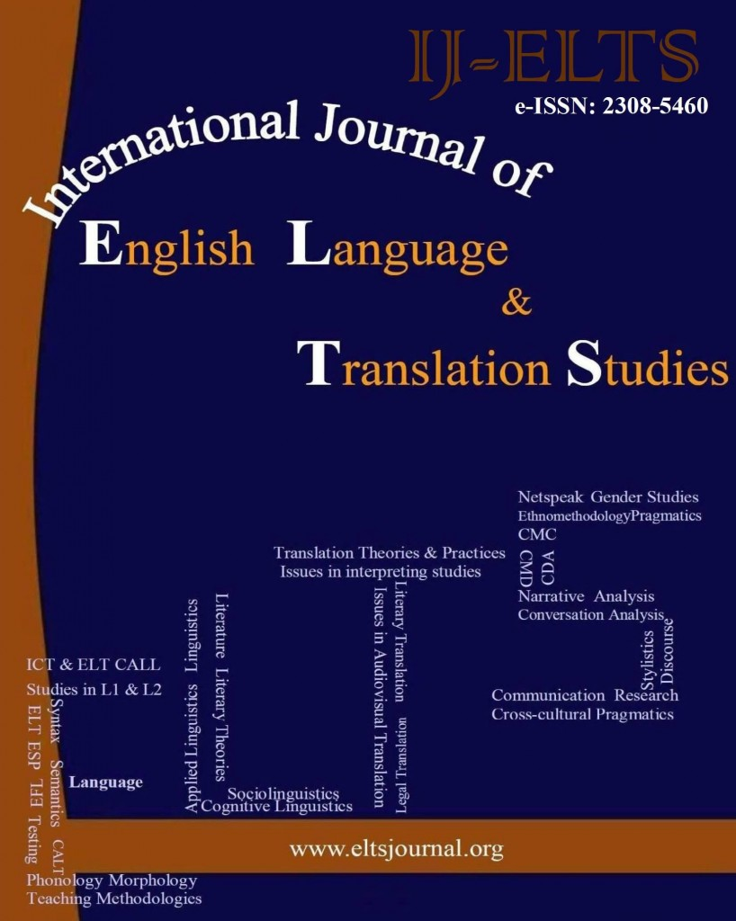 International Journal of English Language & Translation Studies